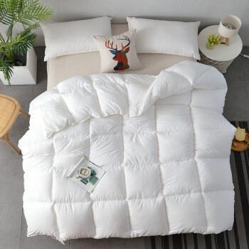 グリアは芯羽毛冬芯学生布団シゲル被ダブル被白150*200 cm 2.5 kg