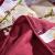 哈比家紡の家の布団は芯の布団に夏温度に調節されて掛けられます。布団純色シリーズのファッション型多針工芸の四季ダブルは芯のジャズレッド1.5 X 2メートルの薄さで布団に掛けられます。