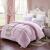 依草家紡単ダブつる春布団/冬が厚くされます。芯のある四季綿布団ピンク150*200 cm-3斤年齢布団