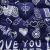 黎夕家紡学生寮上下段のシングル家庭ダンベル用冬のシンプルなファッション漫画で可愛い冬布団芯布団に愛された日記藍180*220 CM/2.5 kg