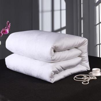 シルクは100%桑蚕糸固绵温度に调节されて挂けられます。布団夏凉はダブル春秋によって芯二合子母布団子供は四季によって固形绵白200*230 cm 0.25 kgの桑蚕糸によって纯重ささささされる。