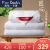 ピルカダンシルクは100%サン蚕糸で大提花布団に芯シゲル蝉糸で白の総重量約3.3 kg 150*200 cmです。
