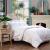 富アンナシルクウール二合一子の母の厚い布団冬は芯ダンブによって保温されます。ベッド用品の固綿ファブリック第二世代1.8 m(230*229 cm)