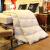 ホテルの羽毛布団は95白フェザによって布団冬に厚いダブシル白アヒル羽毛を芯学生寮の外観にカスタマイズされました。