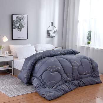 友寝家紡布団秋冬は年齢と秋にダブルに厚く保温されます。秋冬は芯シゲルエアコンで夏涼しい布団です。