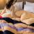 九洲鹿冬布団ストライプ150*200 cm 2.5 kg芯家紡舒柔肌通気綿は冬に厚い保温されます。